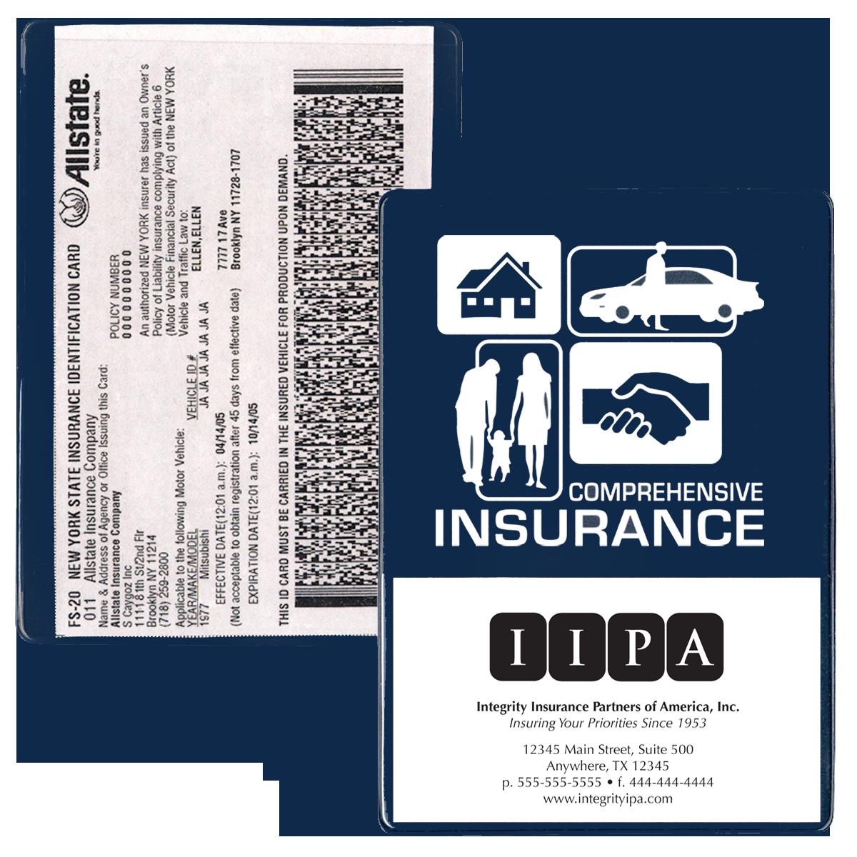 Car Insurance Id Holders